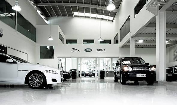 Jaguar Showroom Ledlites Systems
