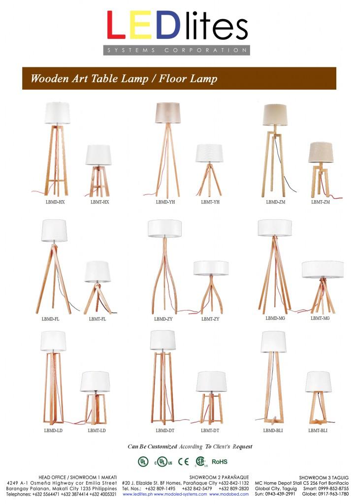 4e wood lamp