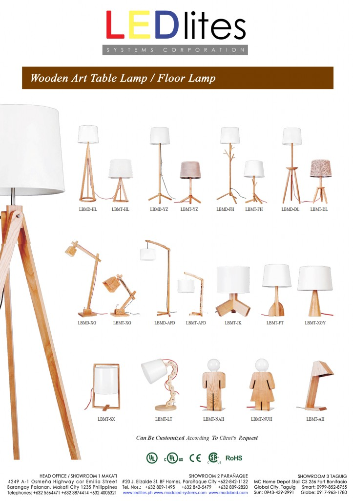 5e wood lamp