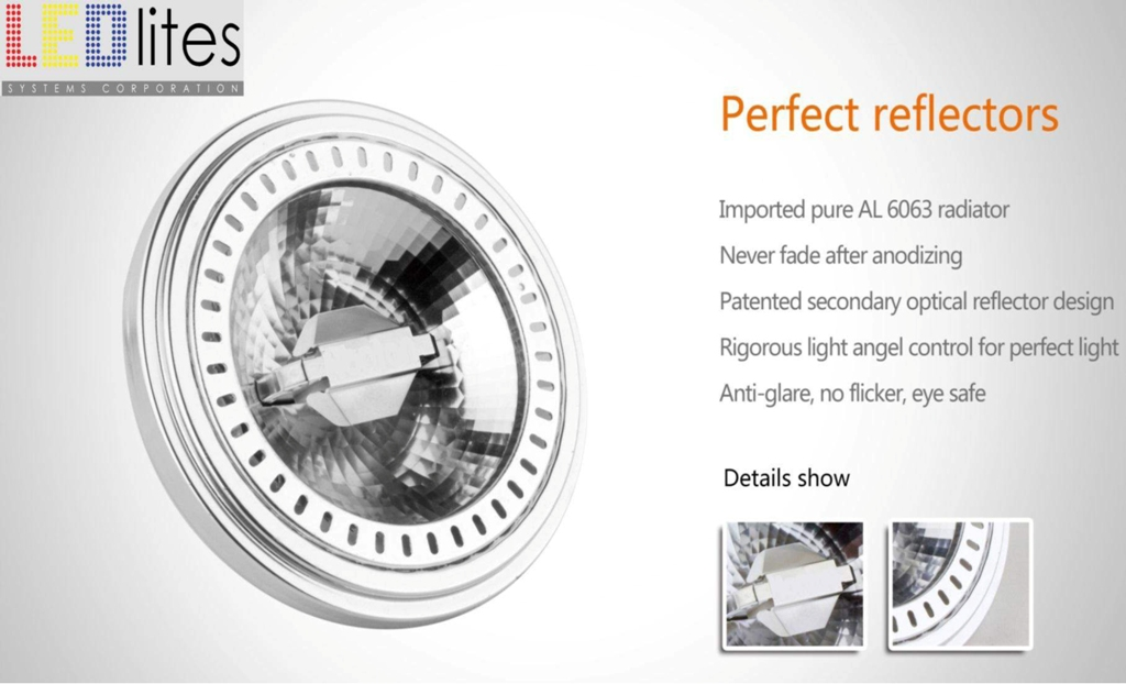 LEDLITES new COB reflector spotlight--10